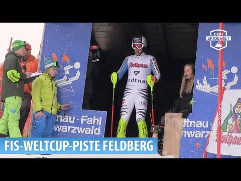 FIS-Weltcup-Strecke im Skigebiet Feldberg (Schwarzwald)
