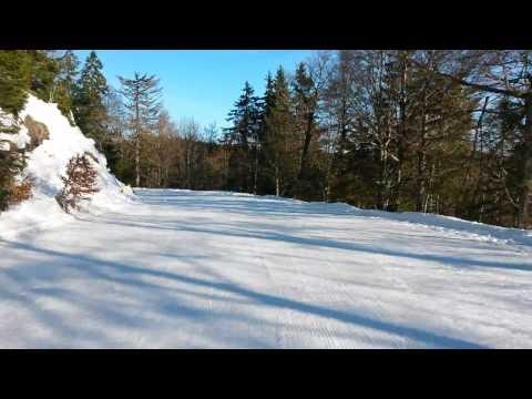 Belchen Schwarzwald - Skiabfahrt für Anfänger und Rodler - Top Panorama